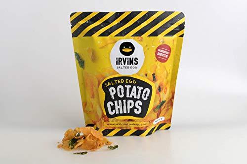 (IRVINS Salted Egg Potato Chips Crisps 105g)