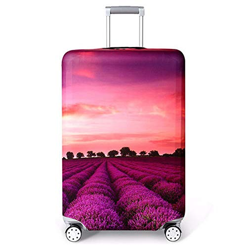 F.S.M. 18-32 Inch Luggage Cover Elasticity Travel Camping Suitcase Protective Cover Trolley Dust Cover - L E by F.S.M.