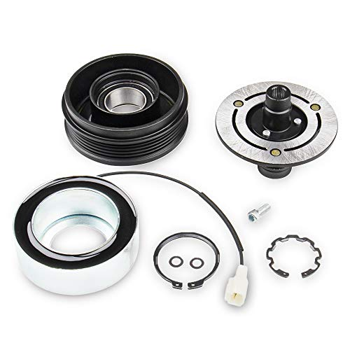 A/C Compressor Clutch Kit For MAZDA 3 5 04-09 Front Plate Bearing Coil Pulley