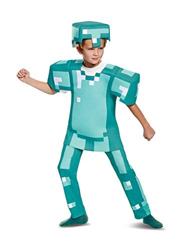 Faerynicethings Child's Minecraft Armor Costume - Size M 7-8 -