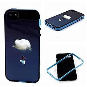 LCJ Clouds Pattern Back Case Cover for iPhone5/5S