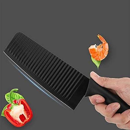 7 piezas / set cuchillo conjunto negro patrón de cocina conjunto de cuchillos de cocina cuchillos de cocina de acero inoxidable utensilios de cocina conjuntos herramientas juegos de cuchillos juego de