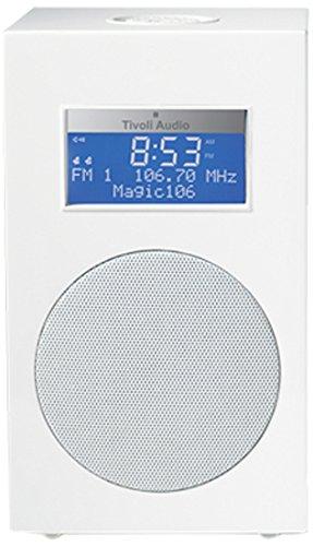 Tivoli Audio M10FW Model 10 AM/FM Clock Radio (Frost White/Silver)