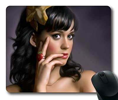 Customizablestyle Famous Singer Katy Perry Mousepad, Customized Rectangle DIY Mouse Pad