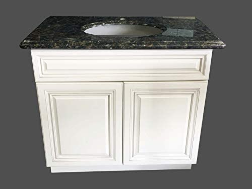 New Antique White Single-sink Bathroom Vanity Base Cabinet 24 Wide x 21 Deep
