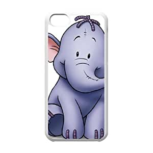 iPhone 5C Phone Case White Disney Pooh's Heffalump Movie Character Lumpy the Heffalump ES3TY7843918