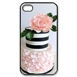 Cake CUSTOM Hard Case for iPhone 4,4S LMc-20498 at LaiMc