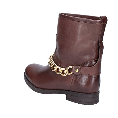 Boots Ankle Womens Inuovo Brown Leather 5xRwqw4Zz