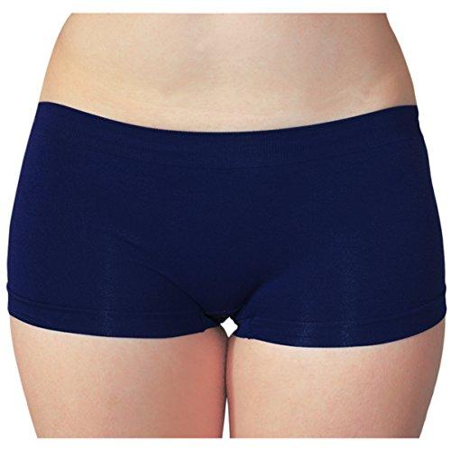 KMystic Seamless Hot Shorts Boy Short One Size (Navy)