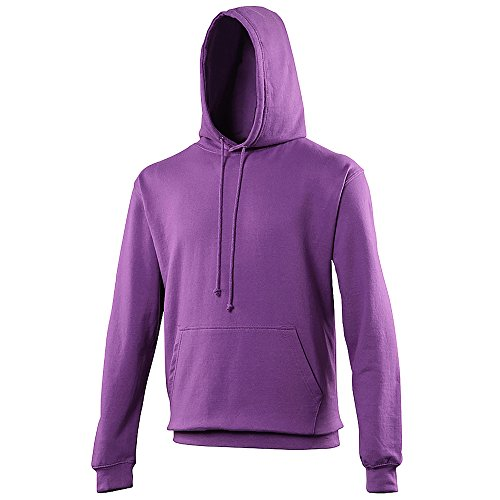 - AWDis Hoods Pullover College Hoodie - 46 Available - Magenta Magic - M