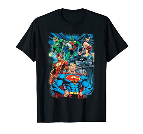 Justice League Justice is Served T Shirt T-Shirt (Best Justice League Comics)