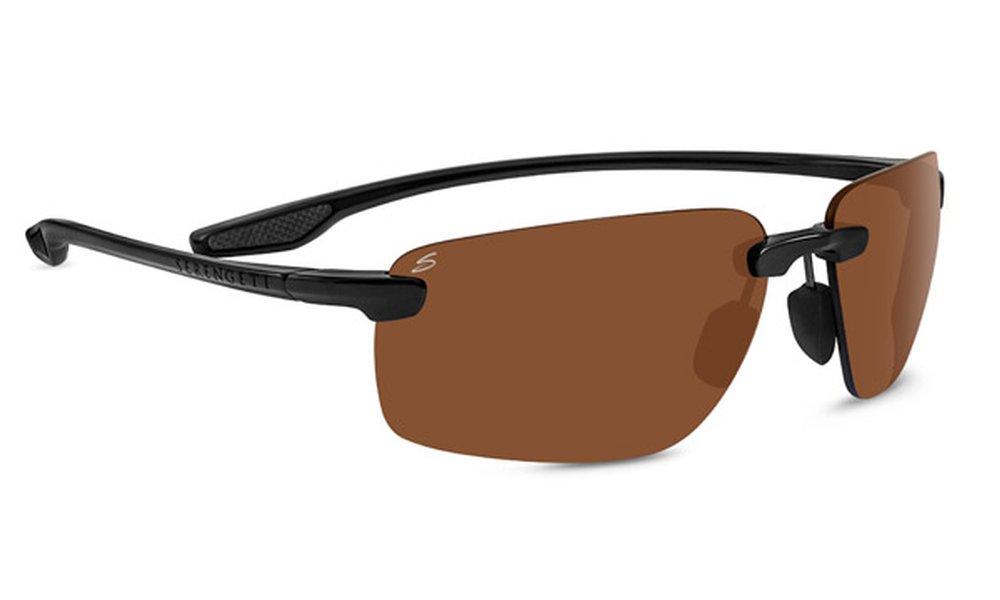 Serengeti 8500-Erice Erice Glasses, Shiny Black