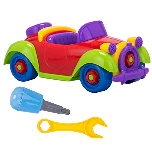 Take Apart Car Toy - with Toy Tools DIY Disassembly Car Toy Assembly Playset - Gift for Kids 3 Years Old and Up DREAMT .
