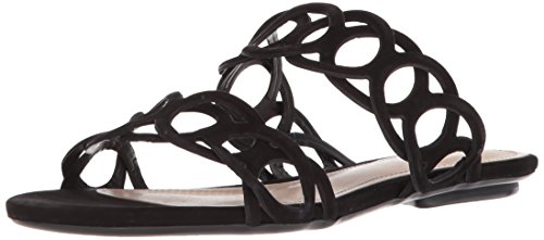 SCHUTZ Women's Yaslin Slide Sandal, Black, 7.5 M US by SCHUTZ