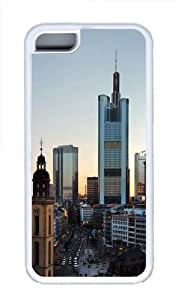 TYHde Frankfurt Skyscrapers Custom iPhone 6 plus 5.5 Case Cover TPU White ending