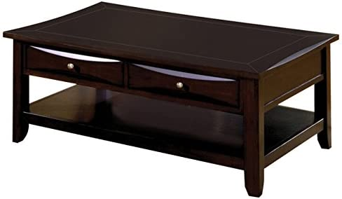 Benjara Benzara Contemporary Style Coffee Table, Brown