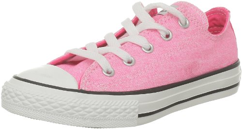 Chuck Neon Neon Ox All mixte enfant mode Rose Wash Taylor Star Rose Baskets Converse dXFTgd