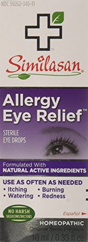 (Similasan Allergy Eye Relief Eye Drops 0.33 oz (Pack of 2) )