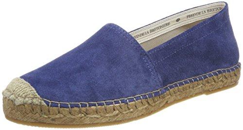 Cold Bretoniere Damen Mocassino / Slipper Blue Flake (blu Cobalto)