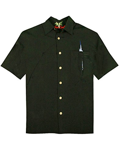 Embroidered Camp Shirt - 6