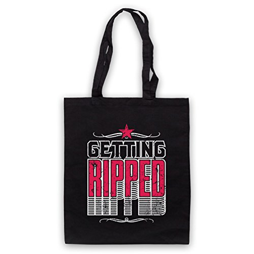Getting My Slogan Art Clothing Workout Sac d'emballage Bodybuilding Icon Noir amp; Ripped xfOf4Zwq