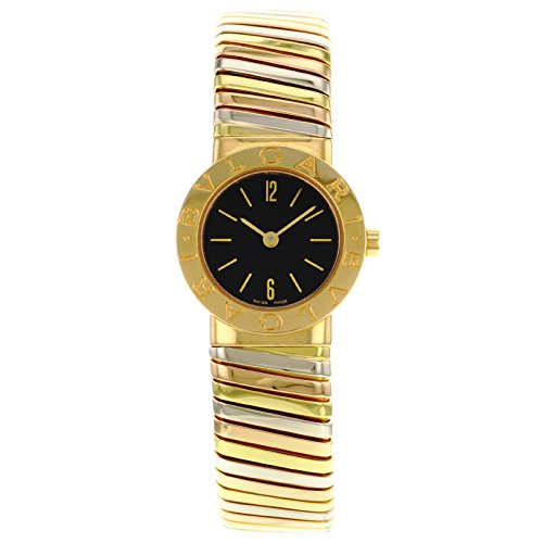 Bvlgari Tubogas BB232TYWP 18K Tri-Color Gold Women's Watch