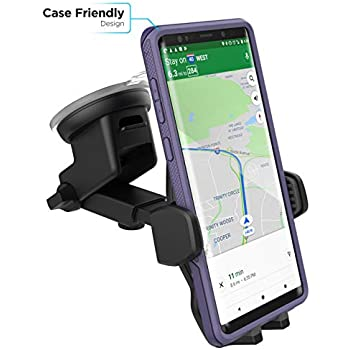 Amazon Com Samsung Galaxy S9 Car Mount Encased Fully