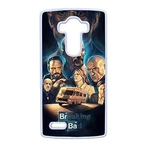 Breaking Bad LG G4 Funda Caja del teléfono celular blanco Q5V8SA