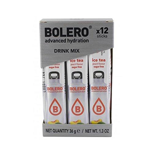 BOLERO BEBIDA SABOR A FRESA CAJA CON 12 STICKS para 0,5 lt por stick 36 gr.: Amazon.es: Salud y cuidado personal