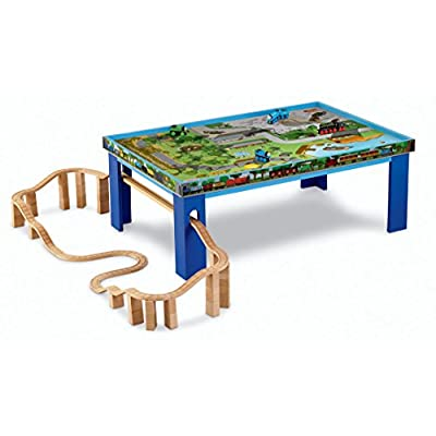 Fisher-Price Thomas & Friends Wooden Railway, Island of Sodor Playtable: Toys & Games
