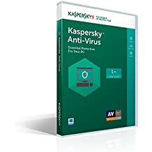 Kaspersky Lab Anti-Virus 2017 - 1 Device/1 Year/[Key Code] (includes 2015 Award)