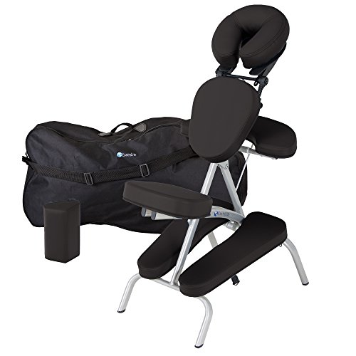 EARTHLITE Vortex Portable Massage Chair Package - Portable, Compact, Strong Lightweight (15lb)...