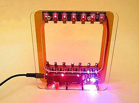 E-hause Kit de arpa láser de bricolaje electrónico DIY Kit de ...