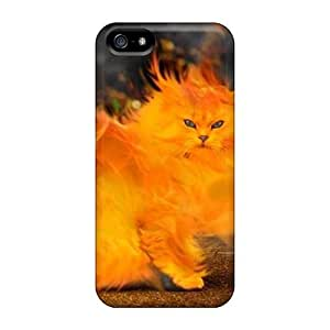 High Quality Dana Lindsey Mendez Firecat Skin Case Cover Specially Designed For Iphone - 5/5s