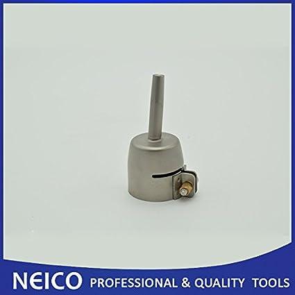 Envío Gratis 5 mm estándar Tubular boquilla para pistola de soldadura de aire caliente