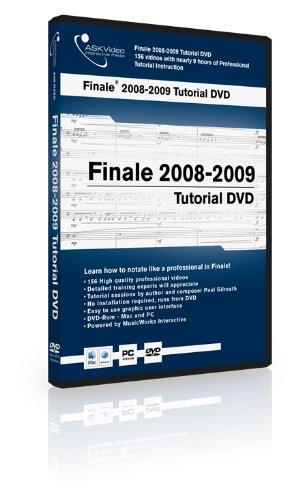 Finale 2008-2009 Tutorial DVD