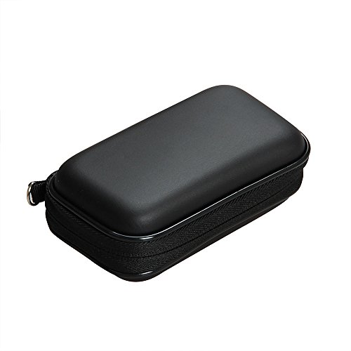 Hermitshell Travel Hard EVA case fits Braun M90 / M60b / M60 / PocketGo MobileShave Mobile Electric Shaver ()