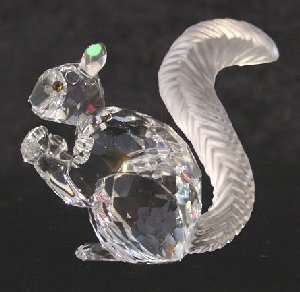 10th Anniversary Figurine (Swarovski Squirrel Figurine 10th Anniversary)