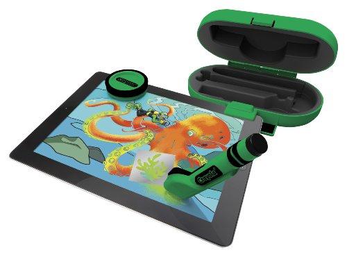Crayola digitools 951014 kit de efectos 3 en 1 para ipad for Aerografo crayola amazon