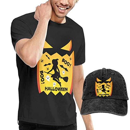 Men's T-Shirt and Hats Witches Lovely Vintage Sally Halloween Boo Leisure Sports Style -