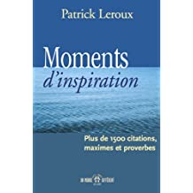 Moments d'inspiration (French Edition)