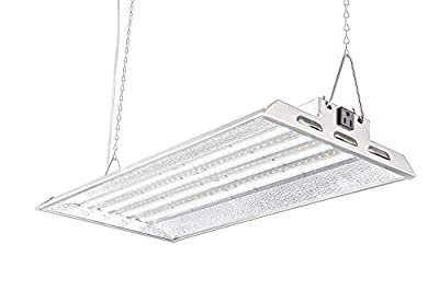 Durolux DLED824W LED Grow Light   2 Feet x 1 Foot Real 50W LED with White 5500K FullSun Spectrum and 10000 Lux Great for Seeding and Veg Growing! Over 50% EnergySaving!
