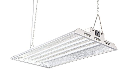 Durolux DLED824W LED Grow Light | 2 Feet x 1 Foot Real 50W LED with White 5500K FullSun Spectrum and 10000 Lux Great for Seeding and Veg Growing! Over 50% EnergySaving! by DuroLux