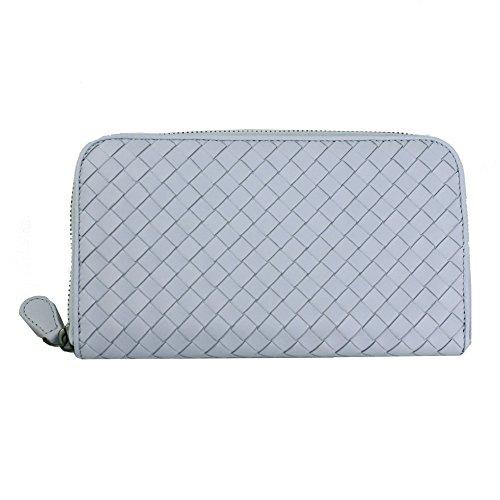 bottega-veneta-intrecciato-zip-around-long-wallet-114076-v001n-light-purple