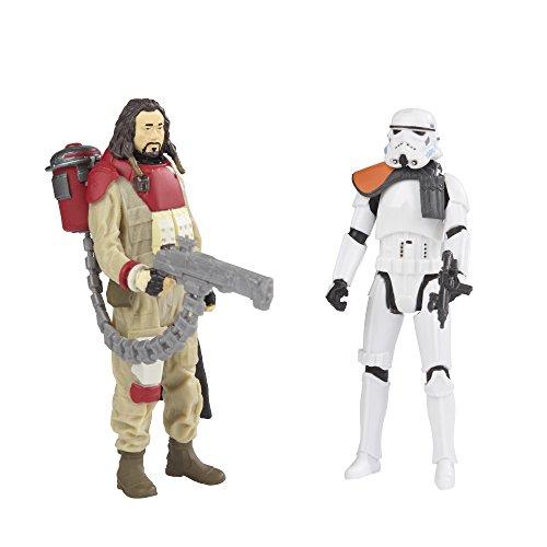 Star Wars Rogue one Baze malbus /& imperial Stormtrooper Hasbro//Disney