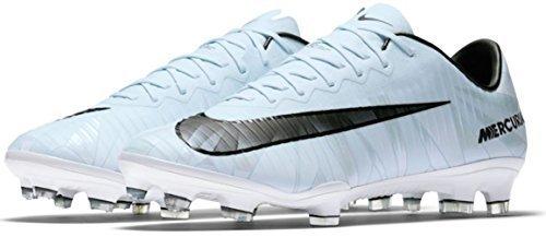 Nike Men's Mercurial Vapor XI CR 7 FG Soccer Cleat (Sz. 11) Blue Tint (Mercurial Vapor Cleats)