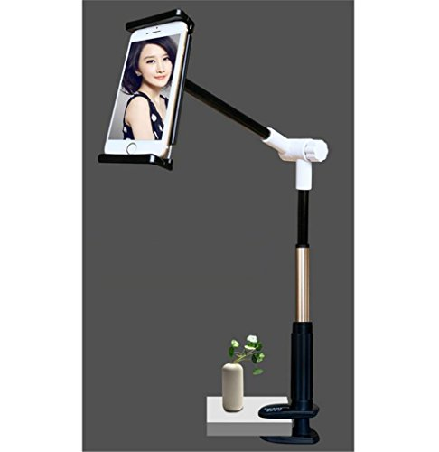 Cell-Phone-Tablet-Stand-Xemz-Adjustable-Detachable-Mount-Holder-for-4-106-Inches-32-Inches-Overall-Length-Apple-or-Android-Devices