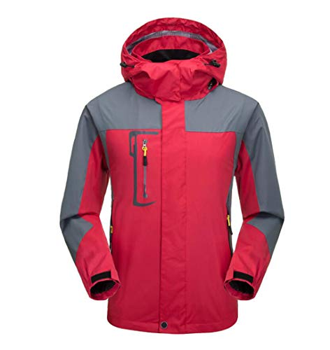 Quick Waterproof Mountaineering Clothing Jacket Thin Section drying Men's Outdoor Red dqpBRdw