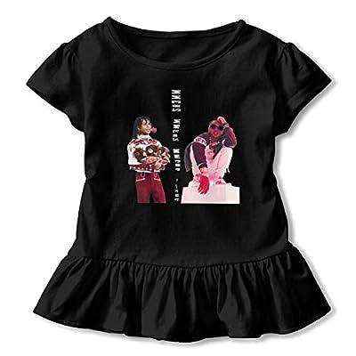Kid T Shirt Rae Sremmurd Music Band 3D Tee Baseball Ruffle Short Sleeve Cotton Shirts Top for Girls Kids