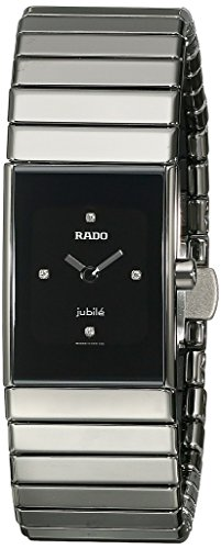 Rado Women's R21827752 Ceramica Watch with Gunmetal Band (Woman Rado Watch)